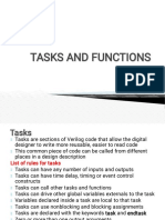 Tasks and Functions PPT
