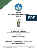 Plk_Rapor_ACHMAD FAISAL RAMADHAN_20191