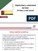 DIAPOSITIVAS Tema 3. Objetividad y relatividad del bien. El bien y mal moral..docx