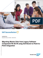 Migrating Master Data from Legacy Software Component PA-SE-IN using Dell Boomi to Point-to-Point Integration