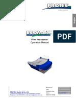 Photon_X_Ray_Developer_Ecomax_Manual