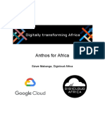 Anthos for Africa Paper
