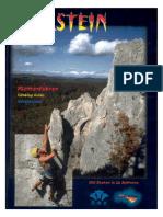 Peilstein Kletterführer. Gesamtführer über einen der schönsten und größten Klettergarten Ost-Österreichs. 850 Routen! Deutsch, English, Magyar