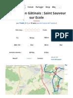 Variation en Gâtinais - Saint Sauveur sur Ecole