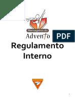 Regulamento Interno - Clube Mensageiros do Advento 2016