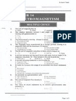 2nd Year Physics Chapter 14 MCQ