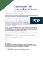 fitness vocabulary 7