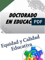 EQUIDAD Y CALIDAD EDUCATIVA- SEPT. 2019