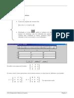 Matrices y Determinanates En Derive6