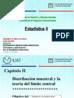 Estadística Inferencial; Distribución Muestral y Teoría Del Límite Central