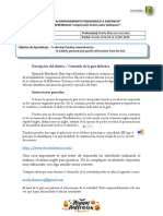 1° medio inglés - PLAN DE ACOMPANAMIENTO PEDAGÓGICO A DISTANCIA 01 al 12 de junio 2020
