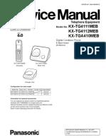 KX-TG4111MEB