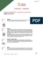 VS - Tour Barcellona - Madrid - Valencia