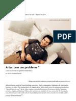 Revista Piauí - Matemática - Artur tem um problema