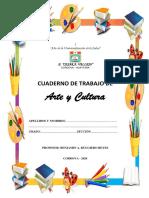 Cuaderno de trabajo Arte y Cultura - Sesion 1 y 2