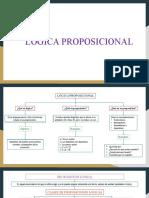 LÓGICA PROPOSICIONAL P1