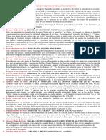 ANALISIS DE LOS 9 MODOS DE ORAR DE SANTO DOMINGO