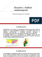 Zonificación y Analisis Multitemporal