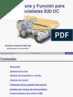 Estructura y Función para Especialistas 830E_ DC Eléctrico