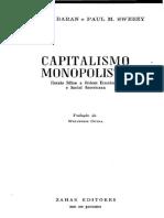 Paul M. Sweezy, Paul A. Baran - Capitalismo monopolista_ ensaio sobre a ordem econômica e social americana (1966, Zahar Editores) - libgen.lc.pdf