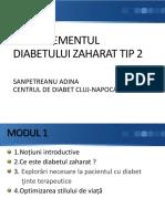 Capitolul 1 -Managementul diabetului zaharat tip 2