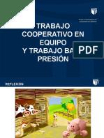 SECION N° 6 PPT TRABAJO COOPERATIVO Y BAJO PRESIÓN