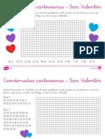 coordenadas cartersianas san valentin