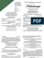 musictip 1b concert program text project