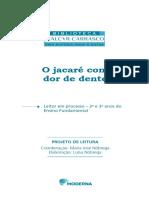 O jacaré com dor de dente - PDF Download grátis