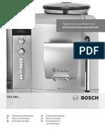 Bosch TES50221RW Espresso Machine