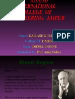 Diesel Engine- Kailash