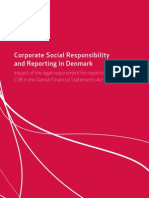 CSR and Reporting in Denmark