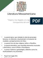 Literatura Mesoamericana