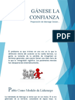 GÁNESE LA CONFIANZA 1RA CLASE DE LIDERAZGO