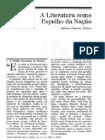 A literatura como espelho da nação - Monica Pimenta Velloso