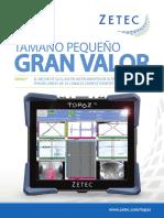 ZETEC Folleto TOPAZ16 en Español