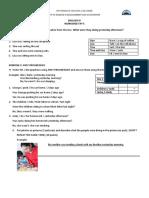 WORKSHEET Nº 5 - IV CICLO - 2020-I
