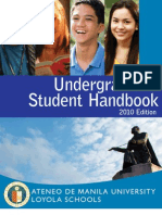 Student Handbook 2010 Edition