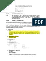 INFORME N°01 - INFORME FINANCIERO DE OBRA