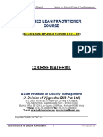 CHAPTER 1 - History of Kaizen & Lean Management