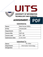 CSE-204 assignment 2-Submitted-by- Ikbal Hossain Mithu- ID-1914551039