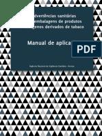 Manual de Aplicação das Advertências Sanitárias - Anvisa