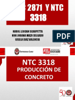 EXPOCISION NTC 3318 y 2871
