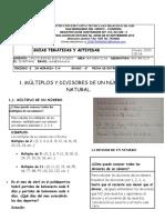GUIA TEMATICA Y DE ACTIVIDAD  DE MATEMATICAS GRADO SEXTO 2P(1)