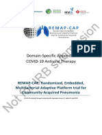 COVID-19 Antiviral Therapy Domain-Specific Appendix Version 2.0 dated 01 April 2020