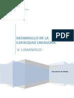 Documento de Cátedra. Lowenfeld