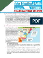 La-Independencia-de-las-Trece-Colonias-para-Tercer-Grado-de-Secundaria