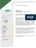 Portafolio Software AliaXa.Soft- Farmacias