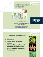 Potential of plants in cosmetic industry- Gurib-Fakim IPUF Presentation [Compatibility Mode]