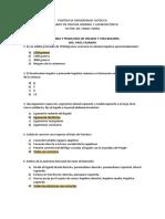 Banco de Preguntas - Evaluación Nº1